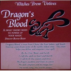 Dragons Blood Votive