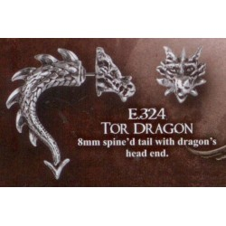 Tor Dragon Earring (faux...