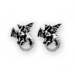 Whitby Wyrm (studs, pair)