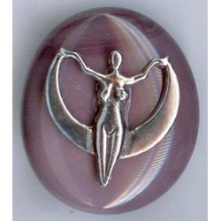 Crescent Moon Goddess Magnet