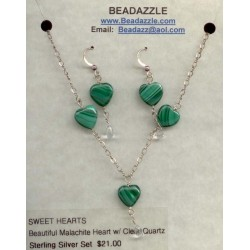Sweet Hearts Necklace &...